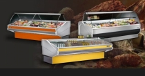 REFRIGERATED SHOWCASES COUNTERS GOLD